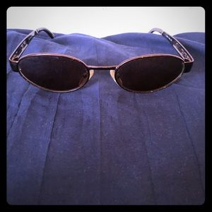 Authentic Fendi Brown Oval Sunglasses